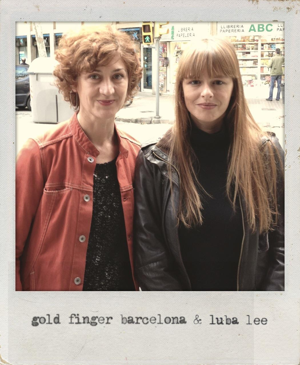 Gold Finger Barcelona & luba lee