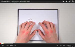 Història de la tipografia